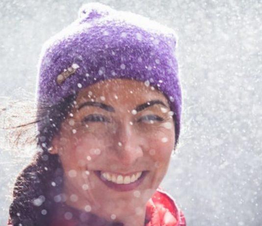 Ob ich so ein Schneetreiben wohl nochmal erleben werde?