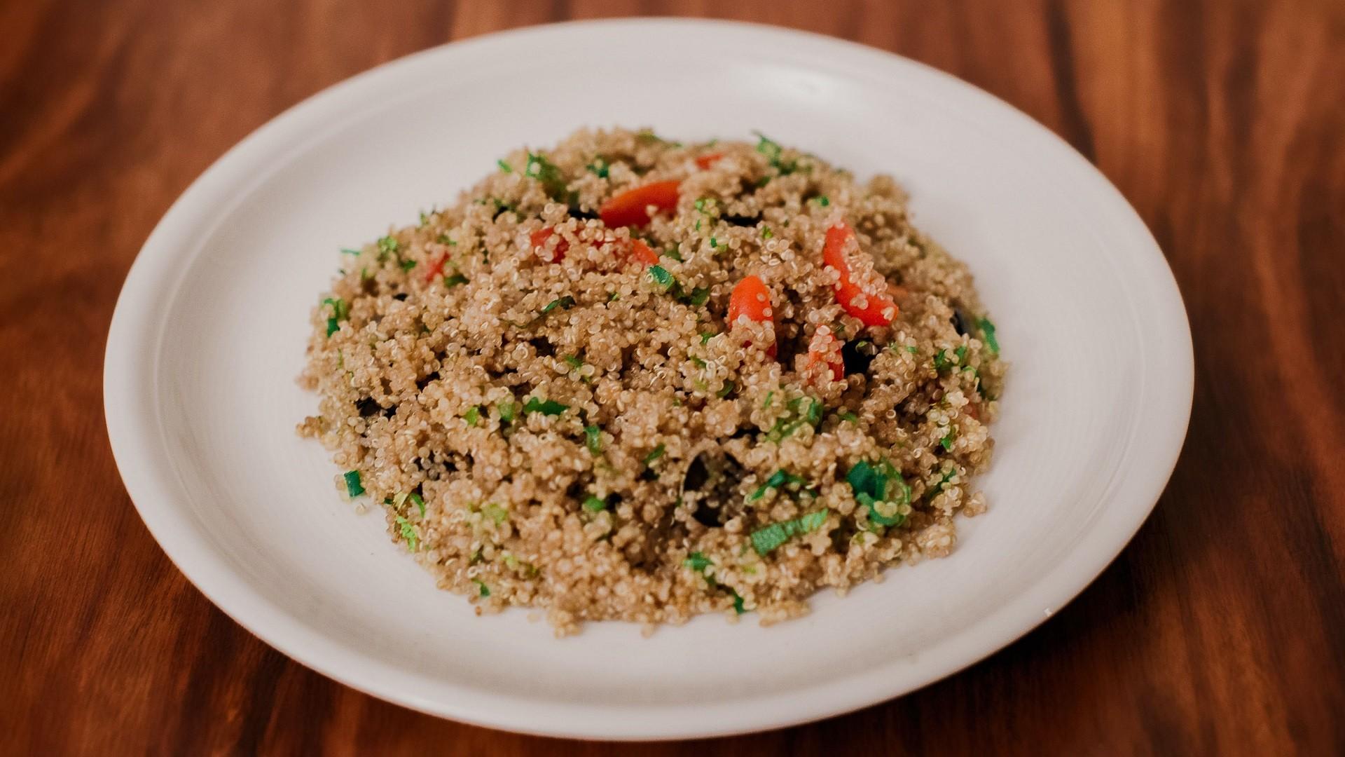 Vegane Rezepte für Kinder schnell Quinoa