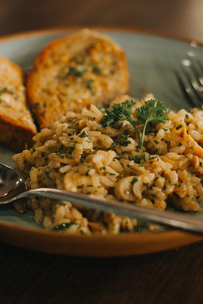 Risotto schnelles Essen für Kinder und Erwachsene Rezept