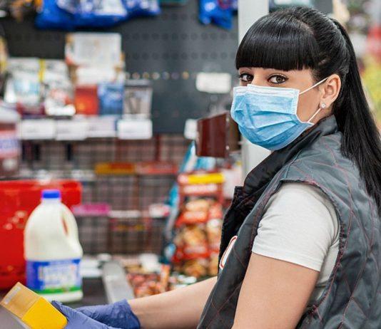 Immer parat – und deswegen auch in der Schusslinie des Zornes: Supermarkt-Angestellte.