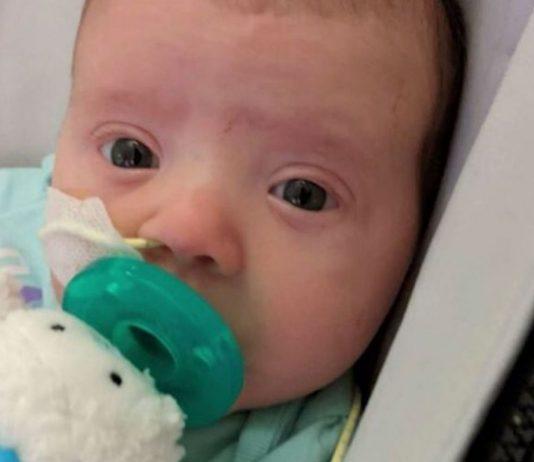 Baby Everleigh hatte großes Glück, dass seine Mama so besonnen reagierte