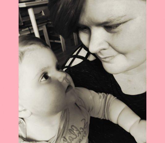 Jaqueline ist stolz auf ihre tapfere kleine Tochter