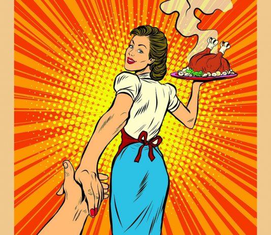 Haushalt, Kochen, den Mann verwöhnen und immer picobello aussehen – das ist harte Arbeit!