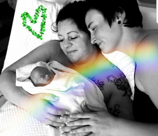 Dieses Bild gestalteten Annamaria und Vivian als Gedenkbild für ihren Sohn Luigi.