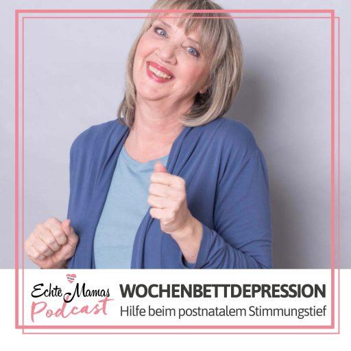 In unserem neuen Podcast spricht Anke Wosu über Wochenbettdepressionen.