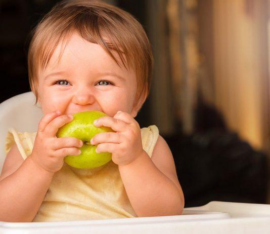 Apfelbrei ist der ideale erste Obstbrei, den du deinem Baby geben kannst.