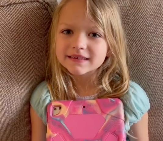 Eine Fünfjährige, die weiß, was sie will!