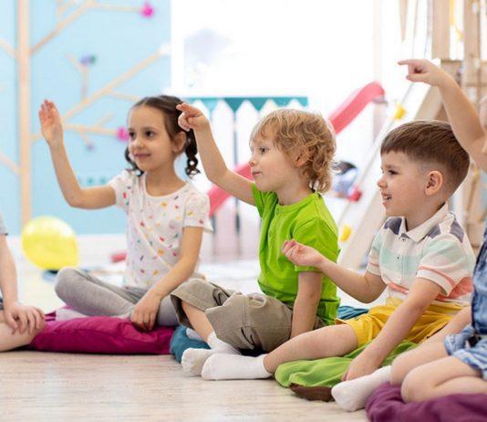 Der soziale Kontakt mit den anderen Kindern tut unseren Kleinen gut.