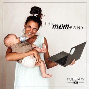 Nora Pinck spricht im Mompany Podcast über die Balance zwischen Baby und Business.