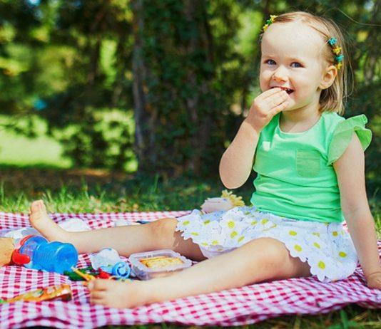 Ein Picknick mit Kindern macht nicht nur den Kleinen Spaß.