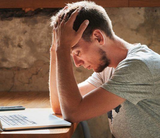 Am Rande des Nervenzusammenbruchs: Der Mann braucht zum Arbeiten die absolute Ruhe. (Symbolbild)