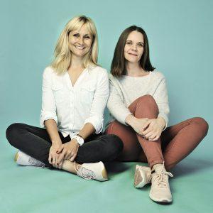 Katharina Fantl und Julia Litschko