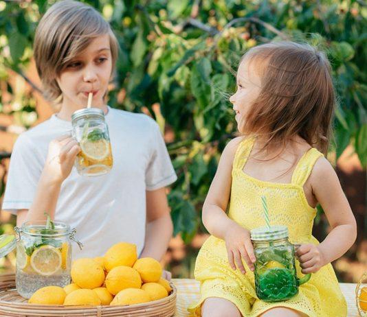 Richtig trinken bei Hitze: Wasser kann man mit Früchten und Kräutern lecker aufpimpen.