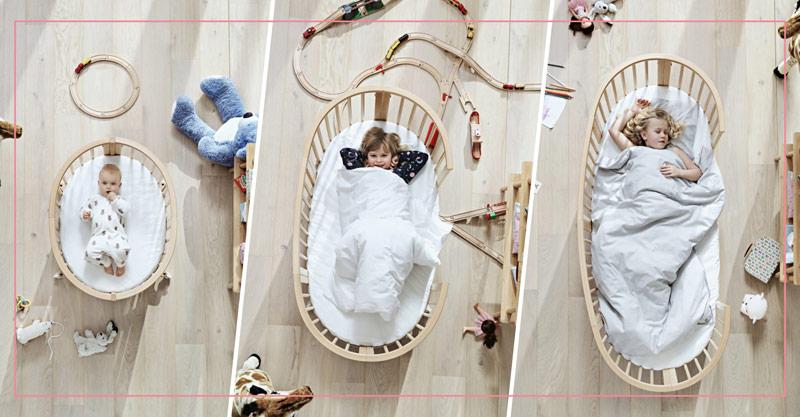 Das Sleepi-Bett von Stokke wächst sogar mit!