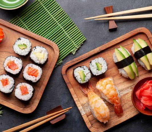 Sushi ist in der Stillzeit erlaubt.