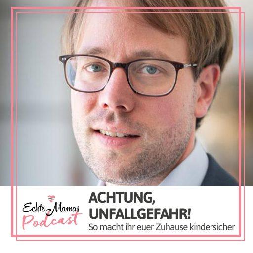 Andreas Kalbitz, Geschäftsführer der Bundesgemeinschaft mehr Sicherheit für Kinder e.V., im Podcast-Interview.