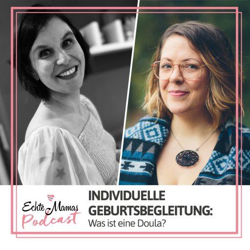 Inken und Anne von den DoulaDeerns im Podcast-Interview.