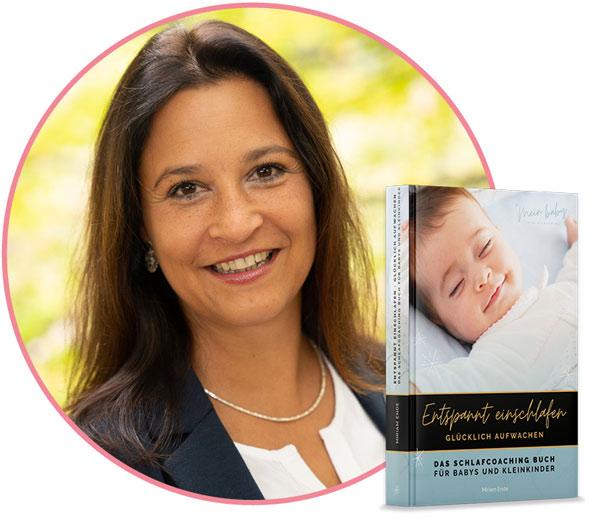 """""""Entspannt einschlafen – glücklich aufwachen"""" – das Buch von Babyschlafexpertin Miriam Ende"""
