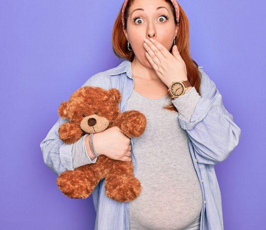 Als Schwangere hat man schon mal den ein oder anderen schrägen Gedanken.