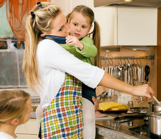 Ganz schön stressig, täglich für die Familie zu kochen!