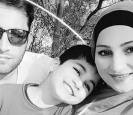 Baser Rasikh und seine Familie.