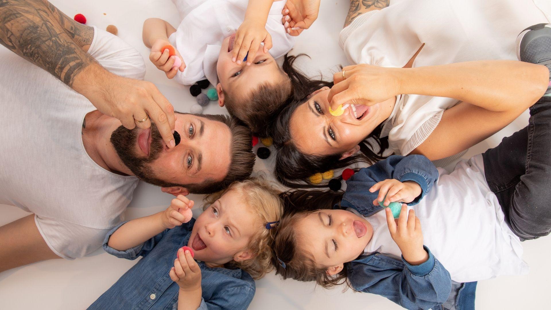 Unvergessliche Fotos und jede Menge Spaß für die ganze Familie beim Shooting.