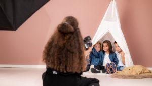 Beim Shooting mit PicturePeople stehen die Kleinen ganz im Fokus.