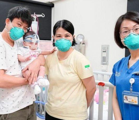 Die kleine Kwek Yu Xuan wurde als kleinstes Baby der Welt geboren