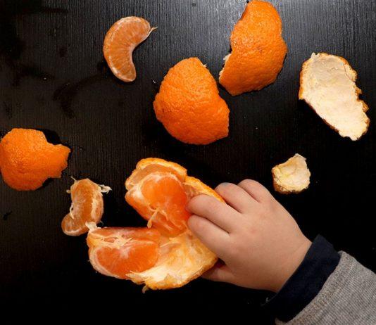 Mandarine sollte dein Baby nicht vor dem siebten Monat essen.