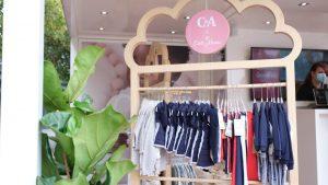 Für jeweils zwei Tage wurde der Baby-Pop-up-Store in vier deutschen Städten in der Einkaufszone aufgestellt.