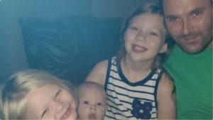 Jason und seine Kinder.